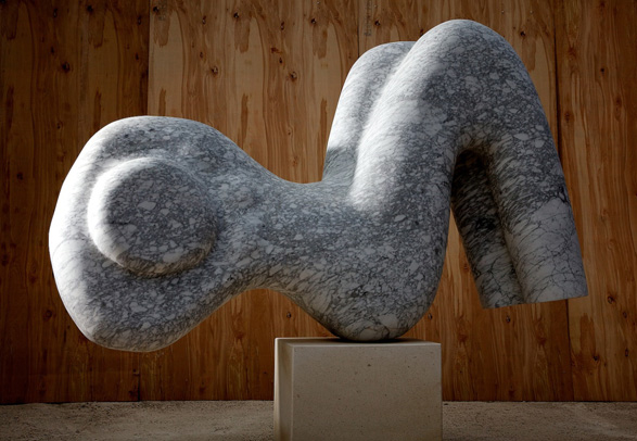 Paul Vanstone reclining figure