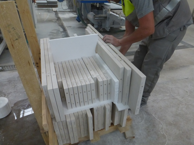 External cladding pre-drilled for mechanical fixing.