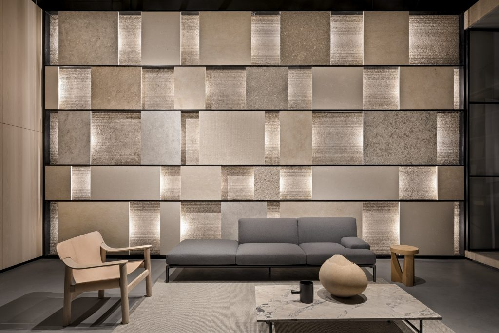 Texture Wall in Siena Stone Collection