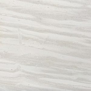 Bianco Ondulata honed