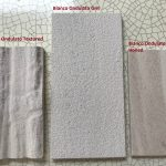 Bianco Ondulato texture options