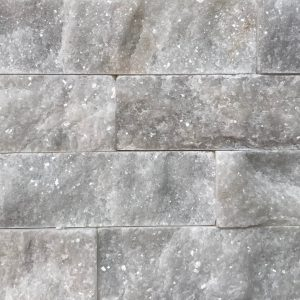 Athena Ice White Split Face Marble Cladding